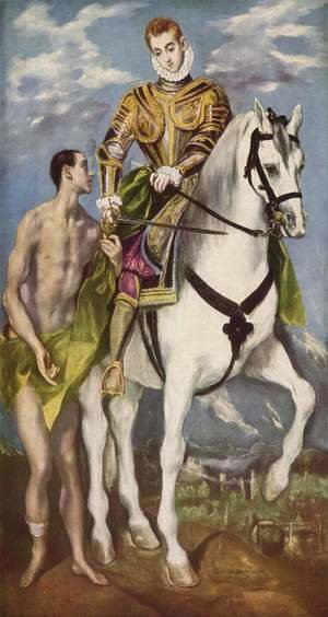 El Greco - St. Martin and the Beggar