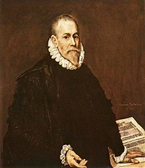 El Greco - Portrait of a Doctor