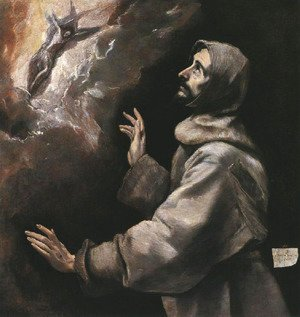El Greco - St. Francis Receiving the Stigmata