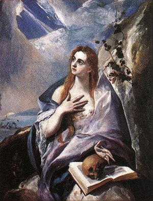 El Greco - The Magdalene