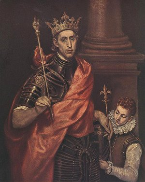 El Greco - A Saintly King