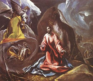 El Greco - Agony in the Garden