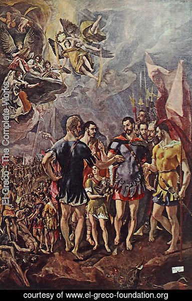 El Greco - Martyrdom of St Maurice and his Legions