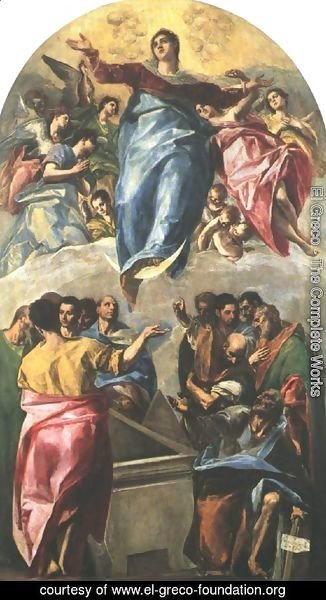 El Greco - Assumption of the Virgin