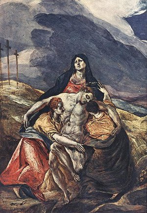 El Greco - The Pietà (The Lamentation of Christ)