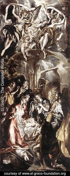 El Greco - Adoration of the Shepherds
