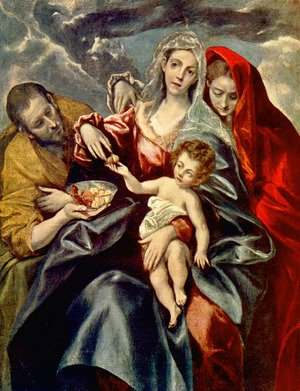 El Greco - Holy Family I