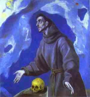 El Greco - St. Francis Receiving the Stigmata 2