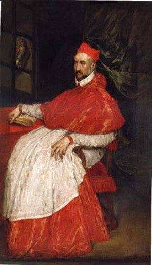 El Greco - Portrait of Charles de Guise, cardinal of Lorraine, archbishop of Reims