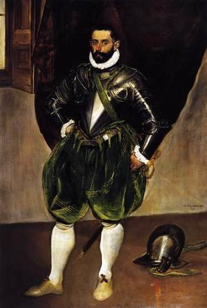 El Greco - Portrait of Vincenzo Anastagi