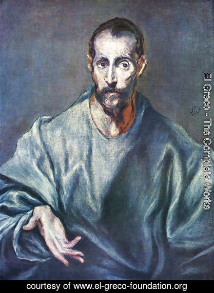 El Greco - St. Jacobus Major