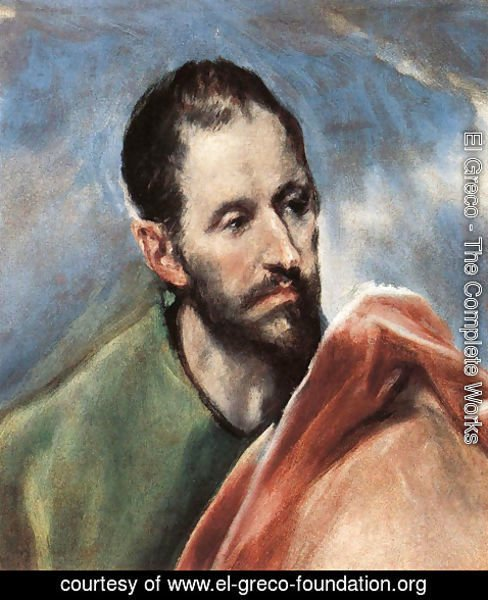 El Greco - Study of a Man