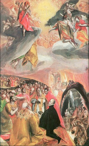 El Greco - The Adoration of the Name of Jesus