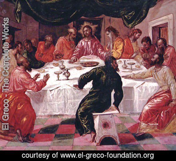El Greco - The Last Supper