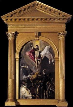 El Greco - The Resurrection 2