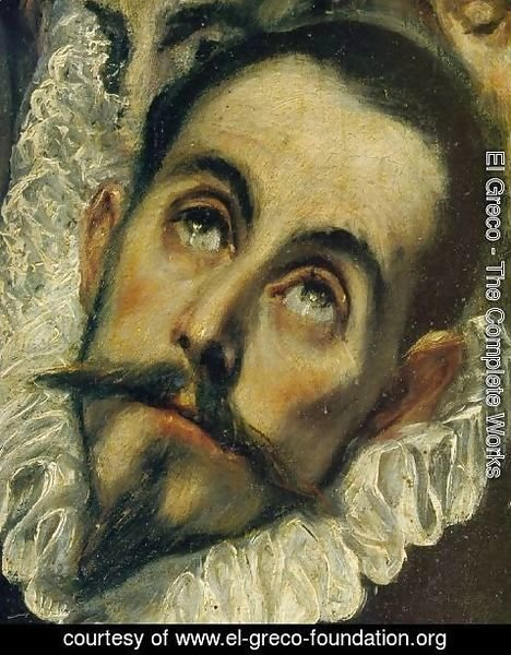 El Greco - The Burial of Count Orgaz (detail)