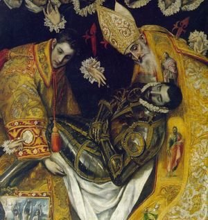 El Greco - The Burial of Count Orgaz (detail) 2