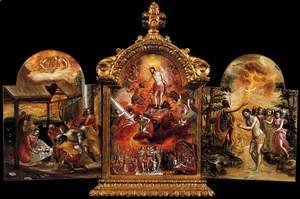 El Greco - The Modena Triptych (front panels) 2