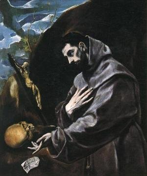 St Francis Praying 1580-90