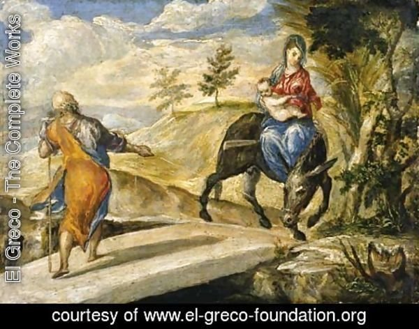 El Greco - The Flight into Egypt