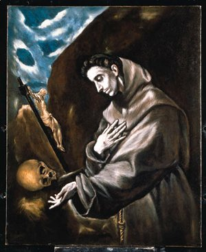 Saint Francis Standing in Meditation