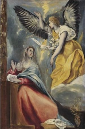 El Greco - The Annunciation 2