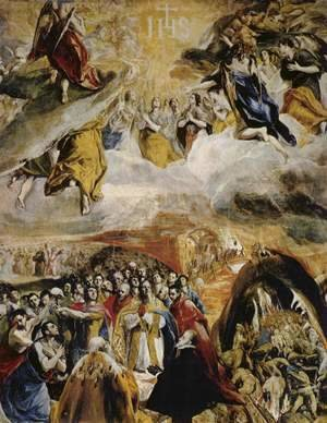 El Greco - Allegory of the victory at Lepanto