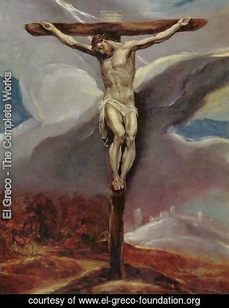 El Greco - Christ on the Cross 2