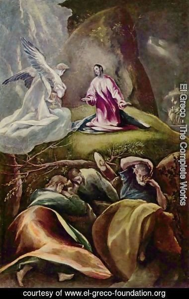 El Greco - Christ on the Mount of Olives
