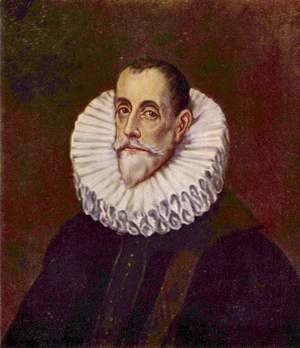 El Greco - Portrait of Don Rodrigo Vasquez