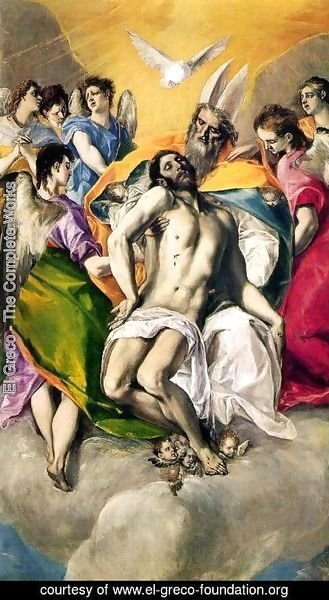 El Greco - Ascension of Jesus