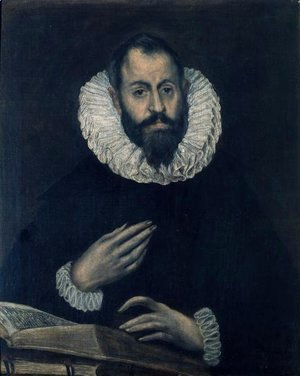 El Greco - Portrait of Alonso de Herrera