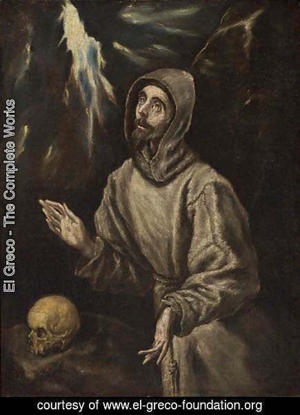 El Greco - The Ecstasy of St. Francis of Assisi