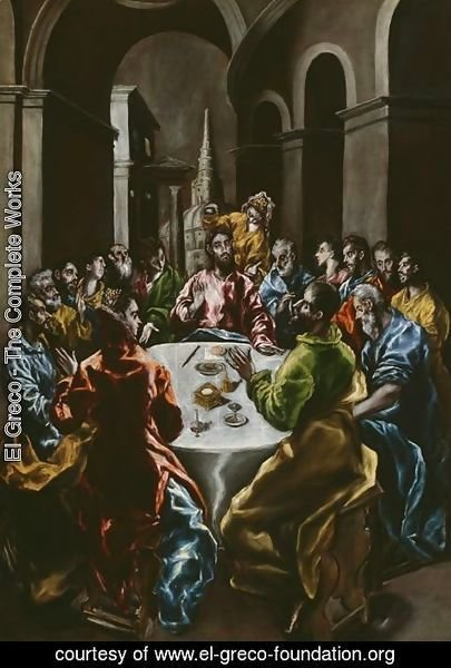 El Greco - Feast in the House of Simon