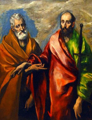 El Greco - St. Paul and St. Peter
