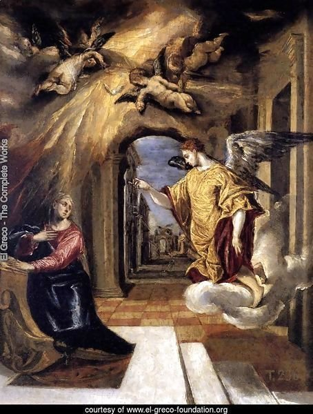 The Annunciation c. 1570