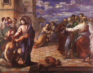Christ Healing the Blind c. 1567