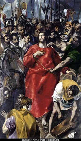 The Disrobing of Christ (El Espolio) 1577-79