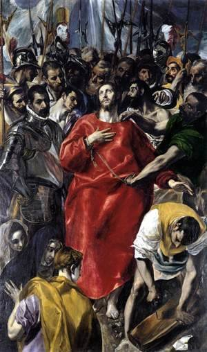 El Greco - The Disrobing of Christ (El Espolio) 1577-79