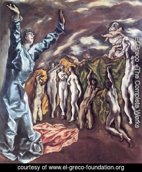 El Greco - Fifth Seal Of The Apocalypse