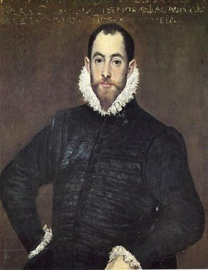 El Greco - Gentleman Of The House Of Leiva