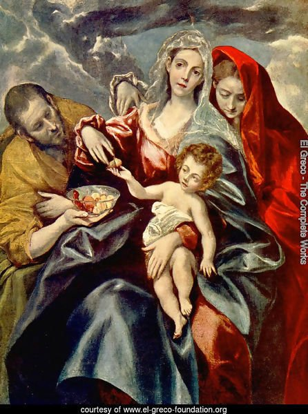 The Holy Family with St Mary Magdalen 1595-1600