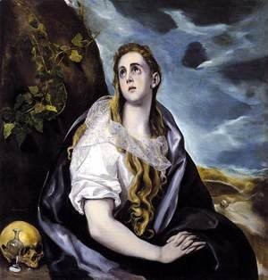 El Greco - Mary Magdalen in Penitence 1578-80