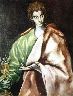 Apostle St John the Evangelist 1610-14