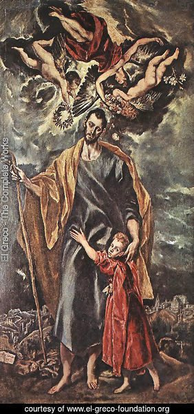 St Joseph and the Christ Child 1597-99