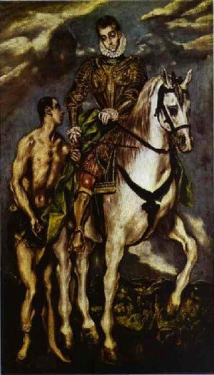 El Greco - St  Martin And The Beggar II
