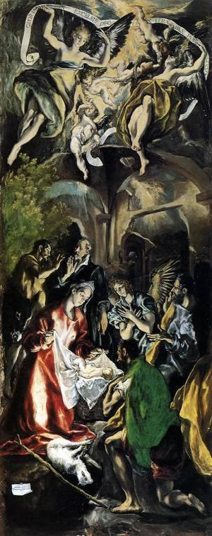 El Greco - Adoration of the Shepherds 1596-1600