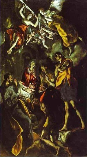 El Greco - The Adoration Of The Shepherds Iii