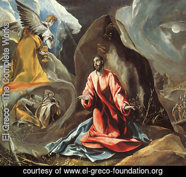 El Greco - The Agony in the Garden c. 1590
