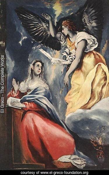 The Annunciation 1600s